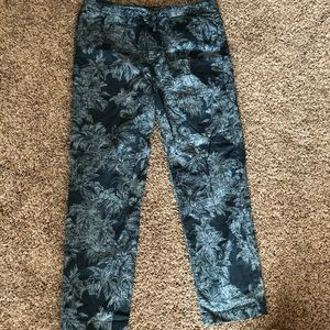 Men's Bonobos palm print pants